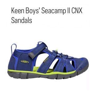 Keen | Boys' Seacamp II CNX Water Hybrid Sandals